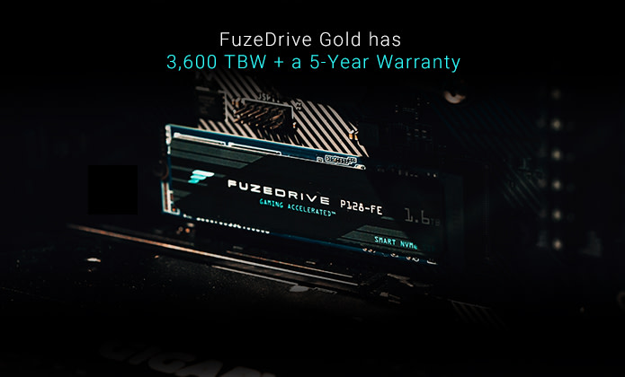 FuzeDrive 1.6TB M.2 SSD Launches: Mixes SLC & QLC NAND for $259