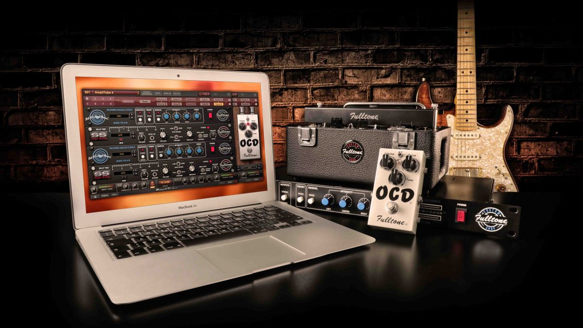 IK Multimedia adds Fulltone guitar and bass effects to AmpliTube
