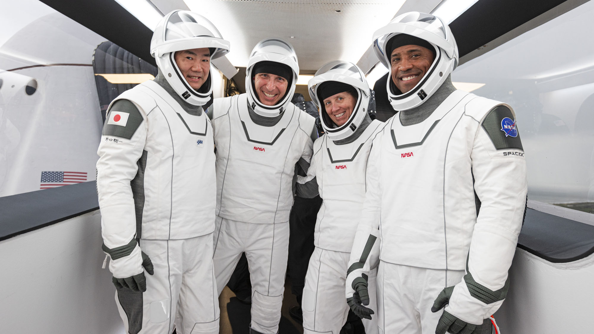 Meet Crew-1: These are the 4 astronauts who are flying on SpaceX's next Crew Dragon