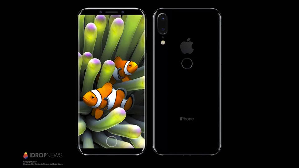 iPhone 8 now rumored to have rear fingerprint scanner and vertical dual cameras