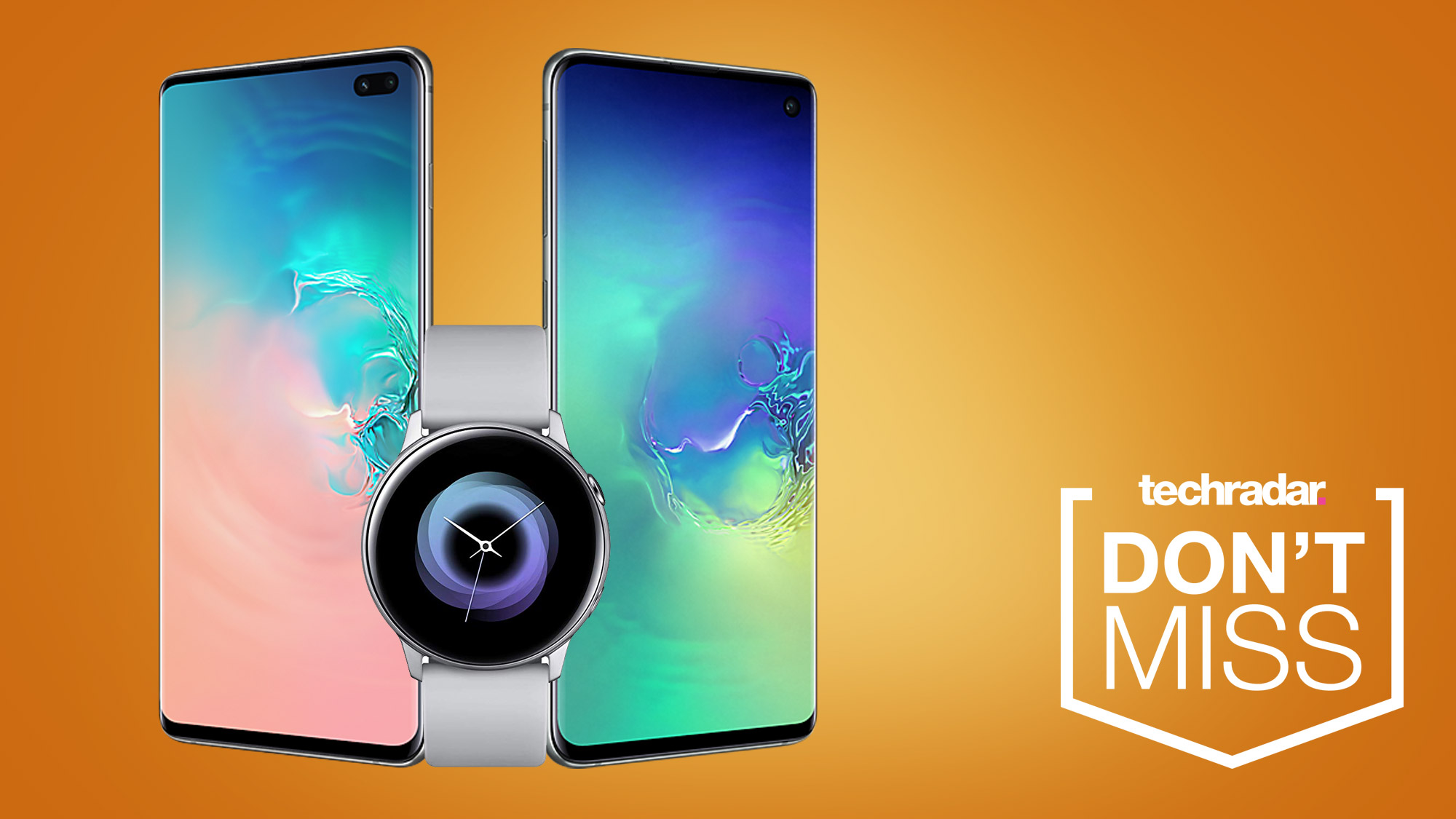 Samsung S10 and S10 Plus deals come with a free smartwatch...but not for long