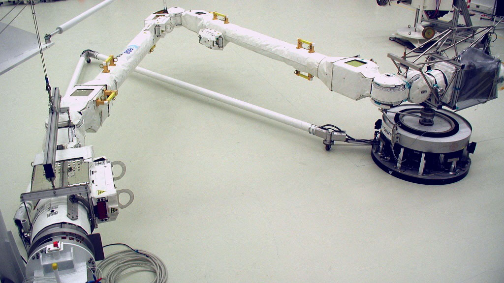 Europe will launch a new two-handed robotic arm to the International Space Station soon thumbnail