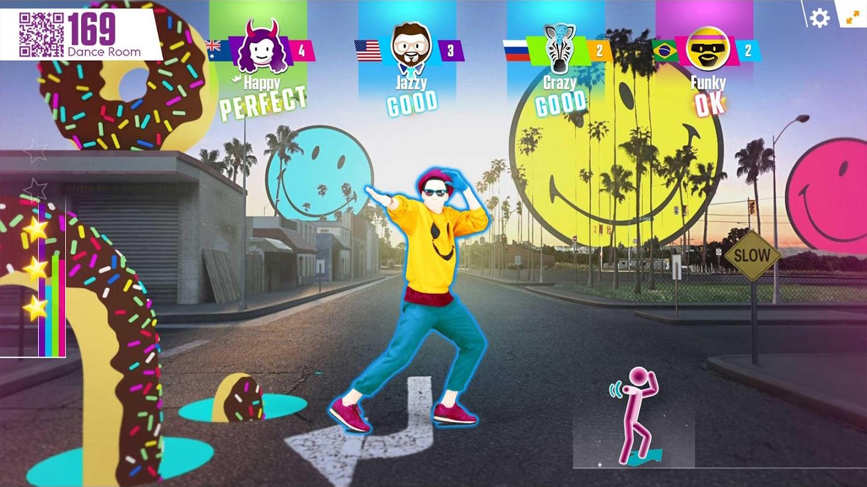A screenshot of Just Dance Now