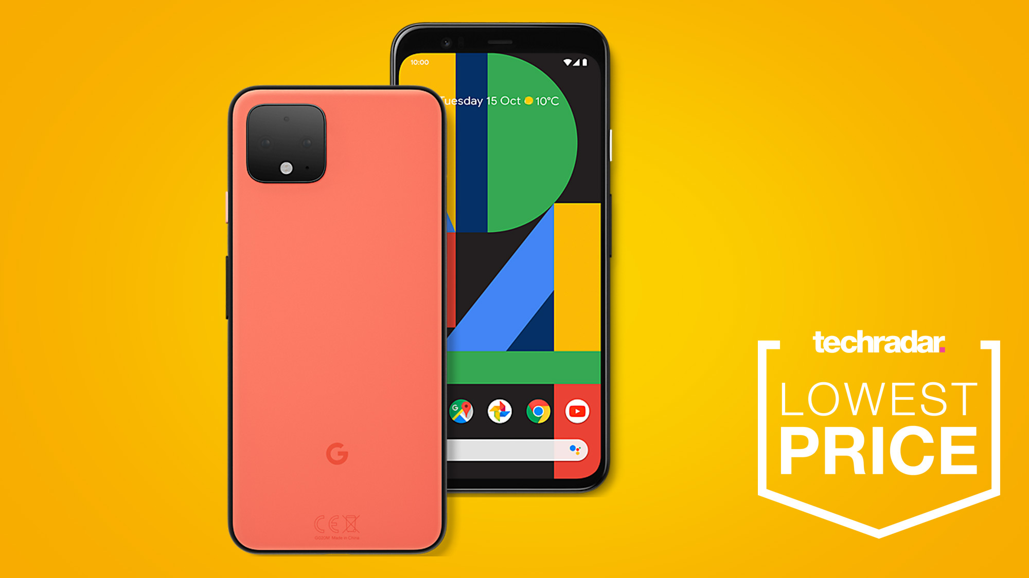 You can still get this ace Google Pixel 4 deal and free Google Home in time for Christmas