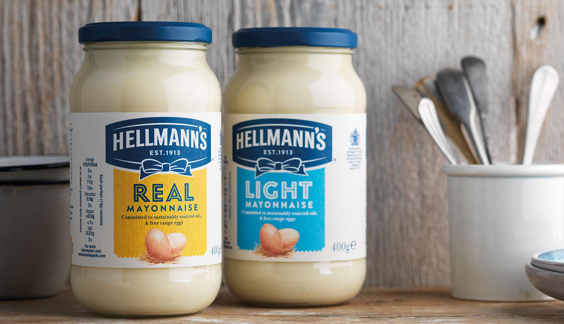 hellmann's mayonnaise bottles
