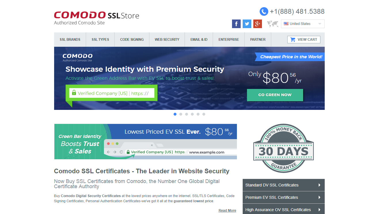 Best Ssl Certificate Providers Of 2018 Webdnet