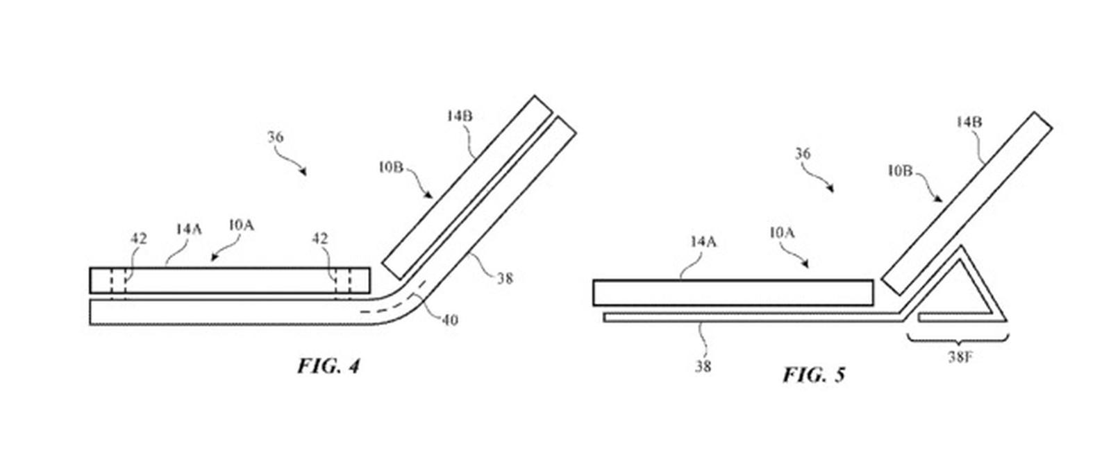 Apple foldable patent