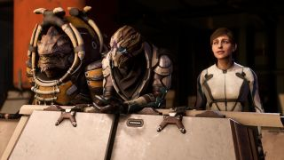Remember We lost the partial nudity rating and got full nudity says BioWare s Aaryn Flynn