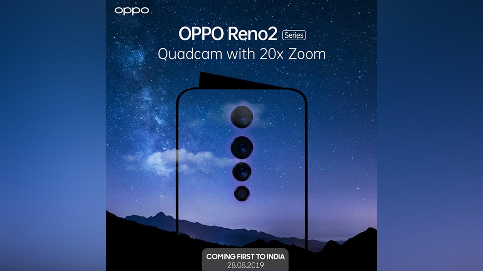 Oppo Reno 2 full details leak alongside some more official teasers