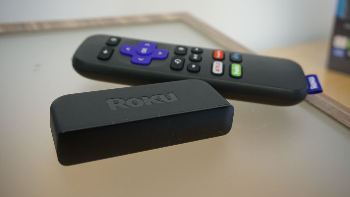 New Replace Remote Control For Roku Express Tv Box, For Roku Premiere W/Amazon Hulu Sling