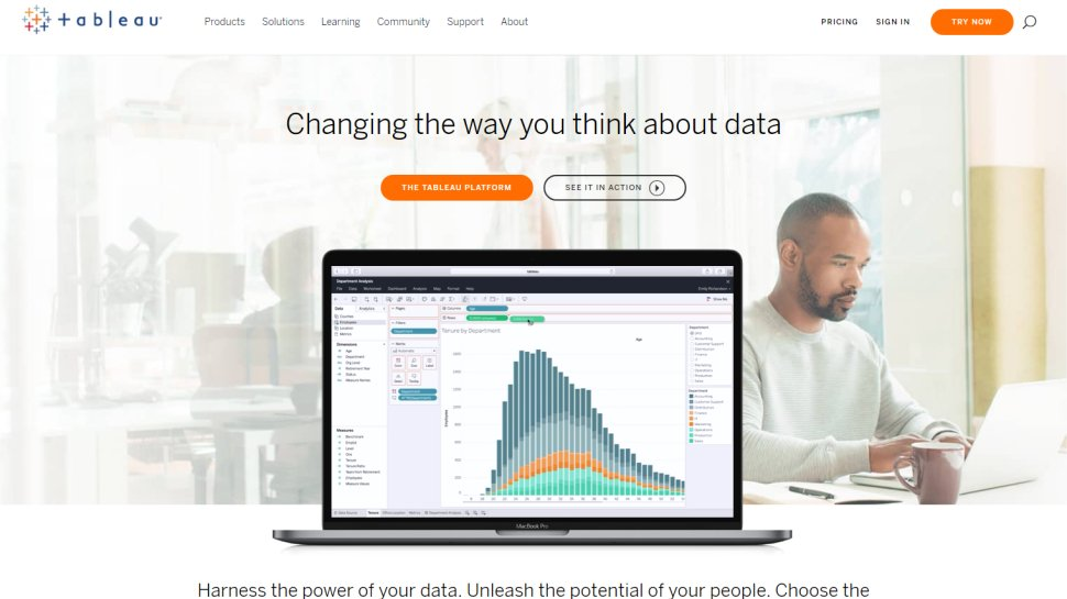Tableau Desktop - A visually slick business intelligence tool that commands a premium