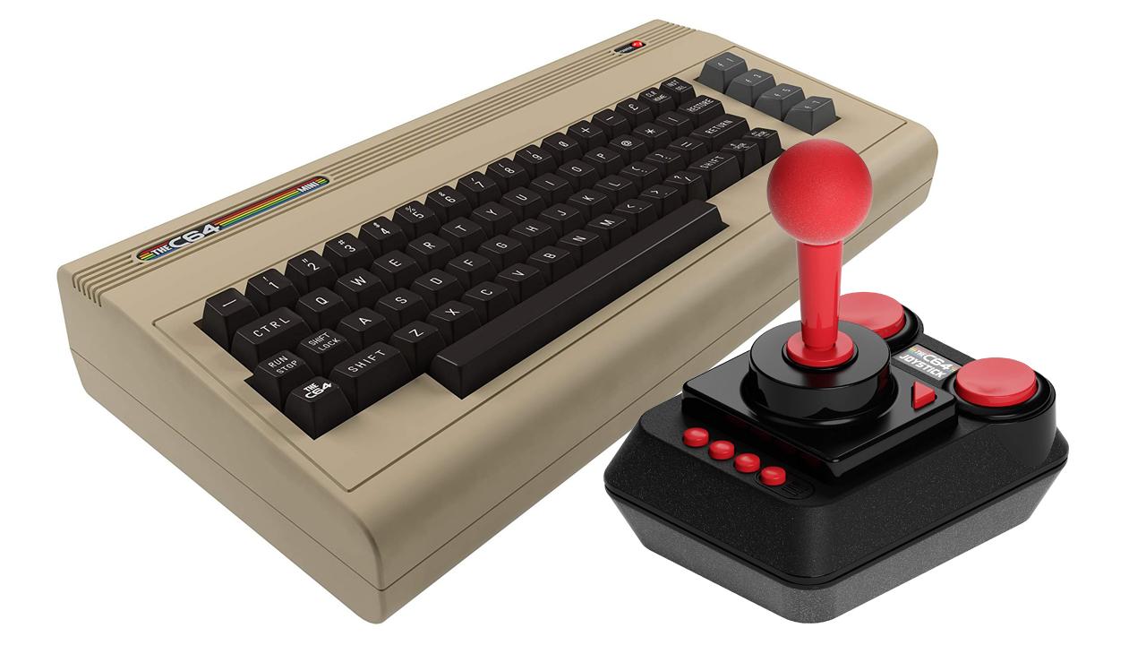 Best retro gaming consoles: C64 Mini