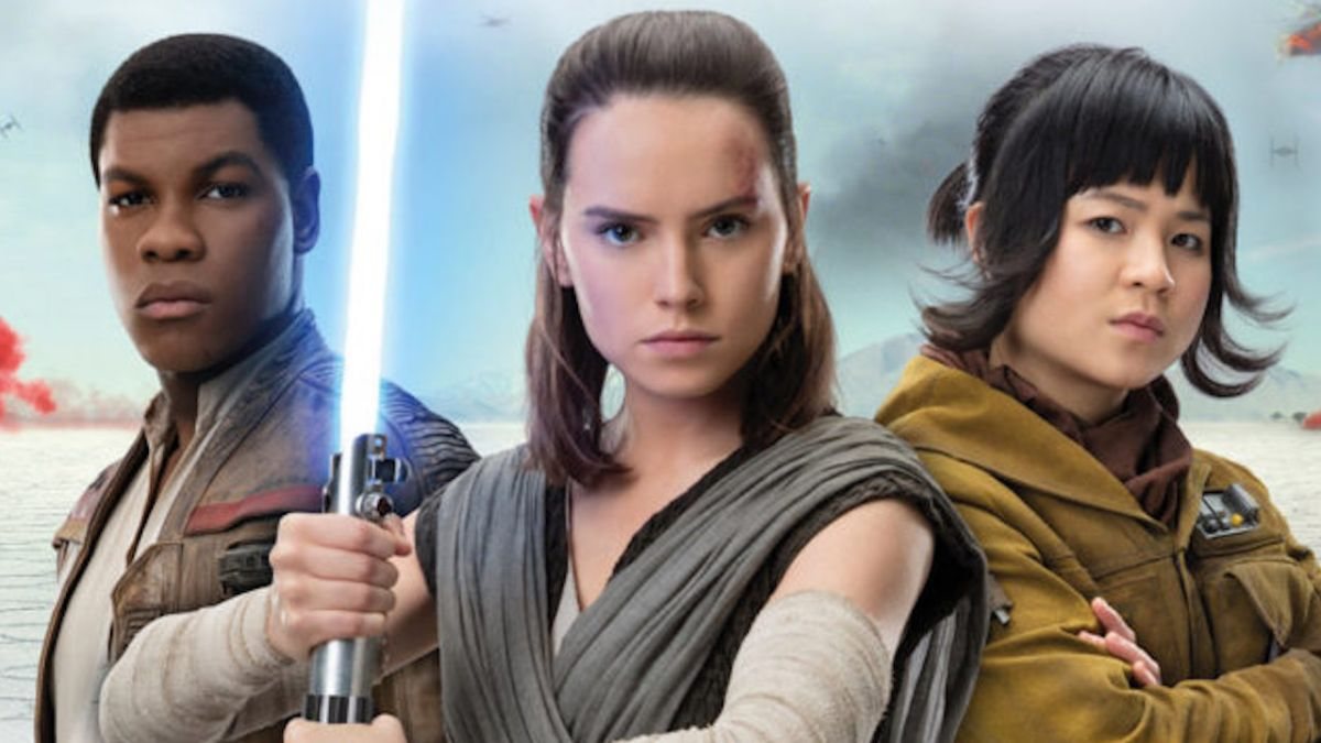 New Star Wars: The Last Jedi photo shows Rebel worker Rose alongside Rey and Finn