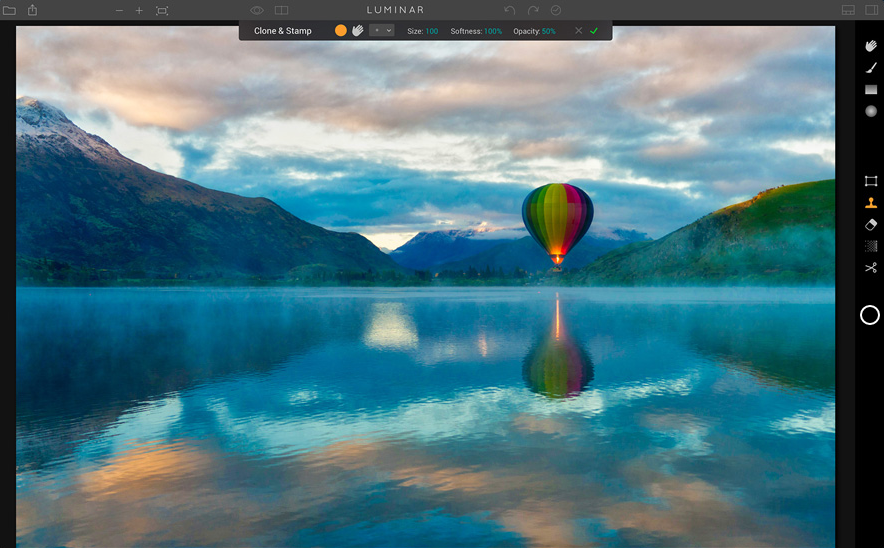 Luminar 2018 photo editor software