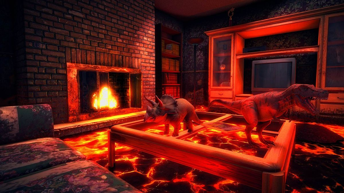 Hot Lava Is A First Person Parkour Survival Game From The