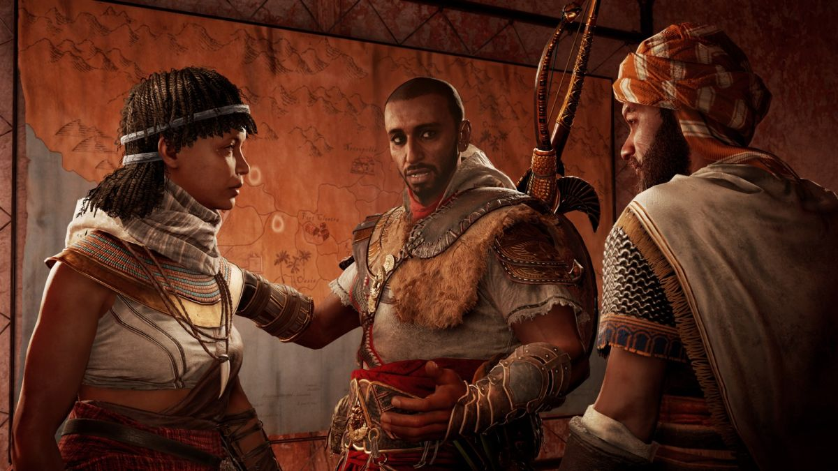 Assassin's Creed: Origins' first DLC will arrive next week