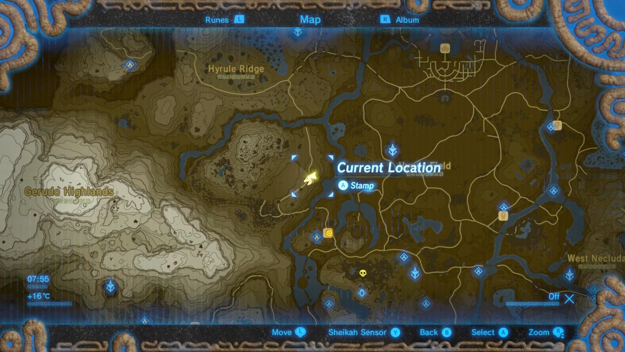 Memory 10 Sanidin Park Ruins The Legend Of Zelda Breath Of The Wild Captured Memories Locations Guide Gamesradar