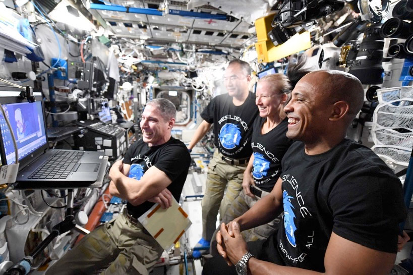 NASA, SpaceX delay return to Earth for Crew-1 astronauts