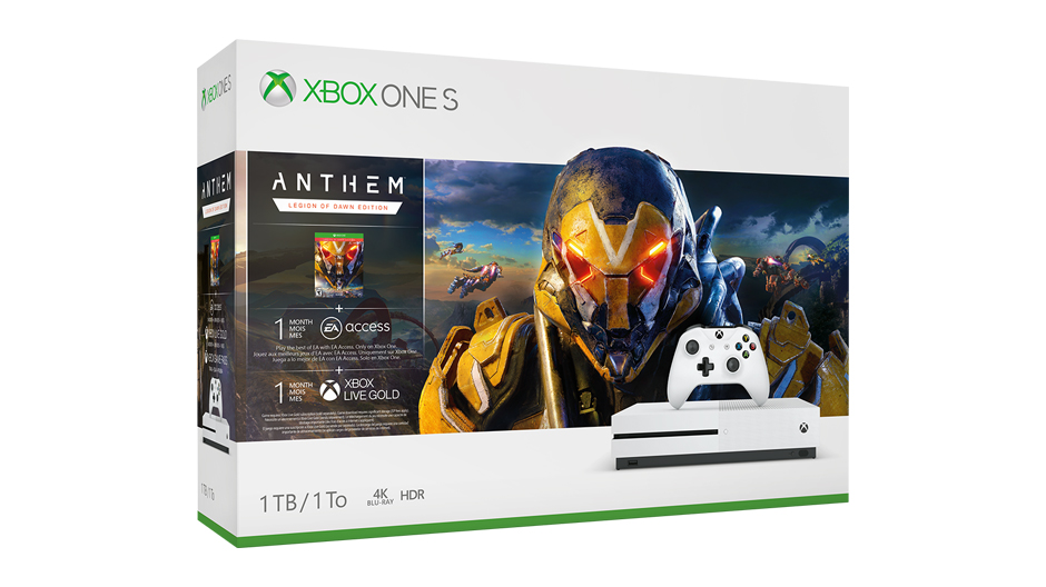 Xbox One S Anthem bundle is the cheapest (and worst) way to play the game