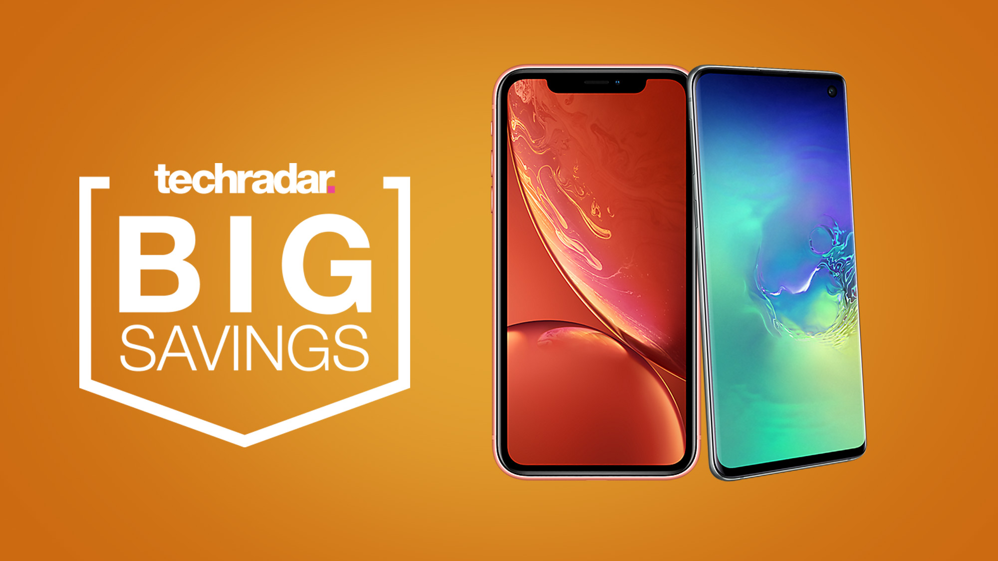 Save up to £60 with these exclusive EE iPhone XR and Samsung Galaxy S10 deals