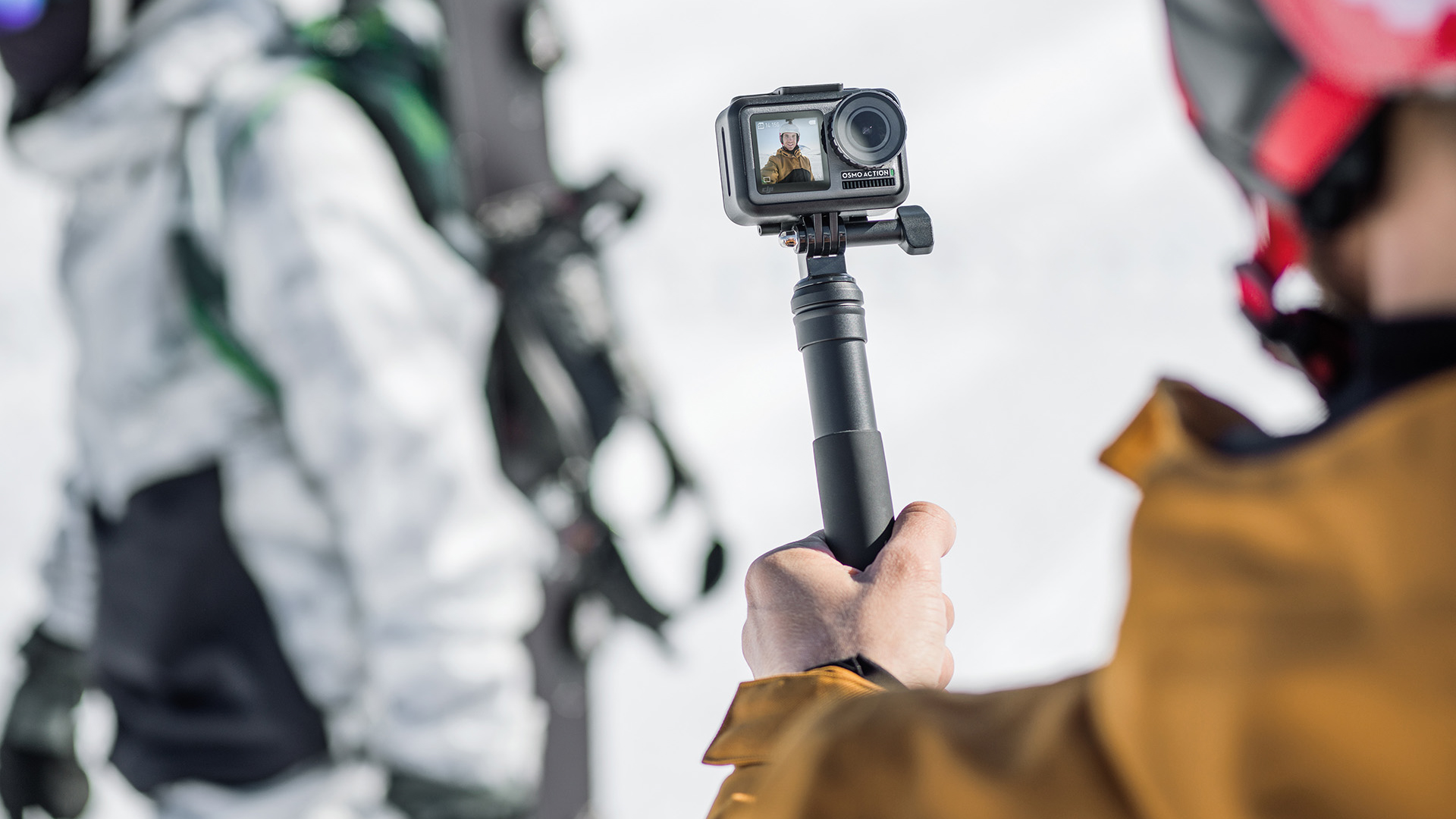 DJI Osmo Action is the company's first 4K rugged action camera