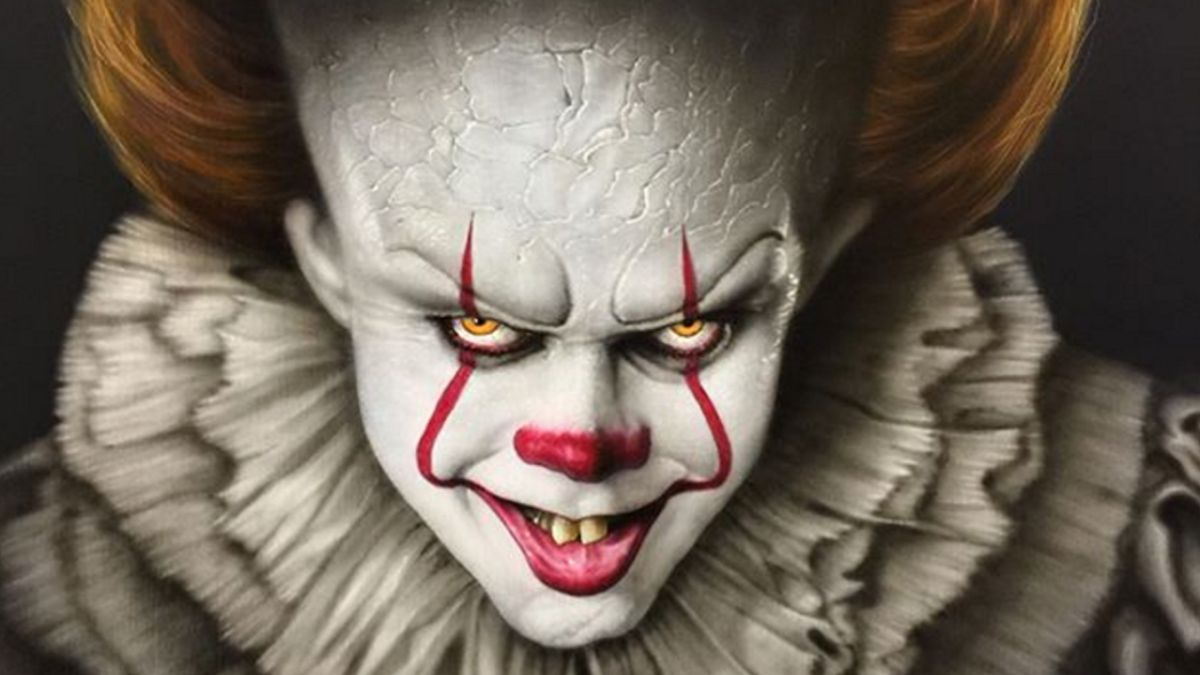 The most terrifying IT fan art you'll see... including the winner of our IT competition