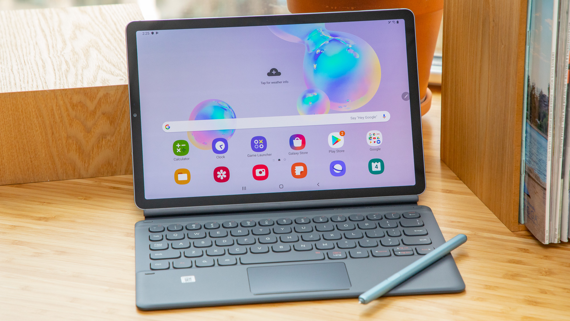 Best tablets with keyboards: Samsung Galaxy Tab S6