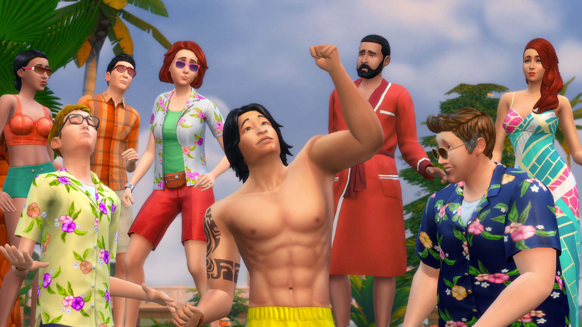 a game like sims 3 for free online