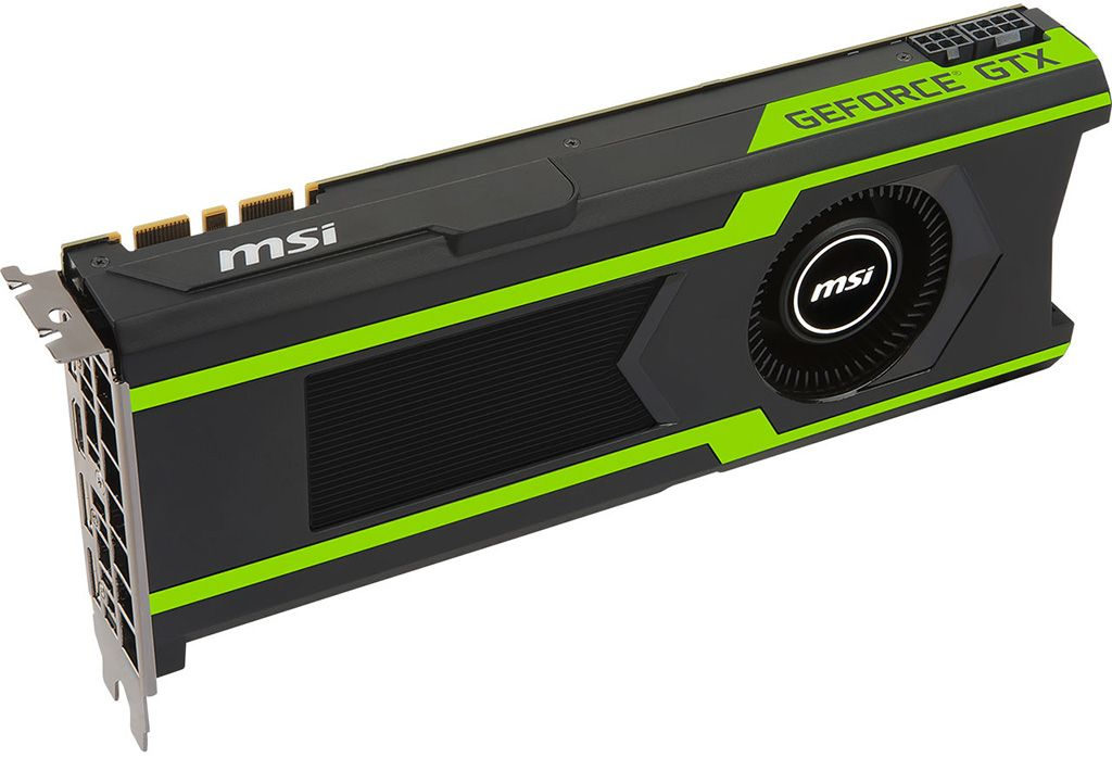 MSI shows off GeForce GTX 1080 Ti Armor and Aero graphics cards