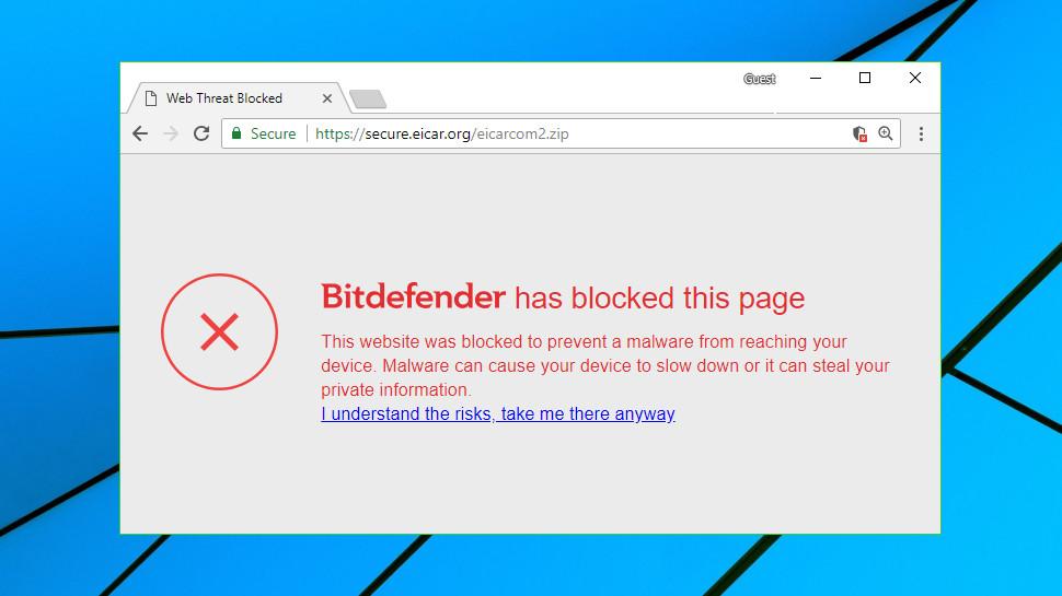 bitdefender free 2018 blocking websites