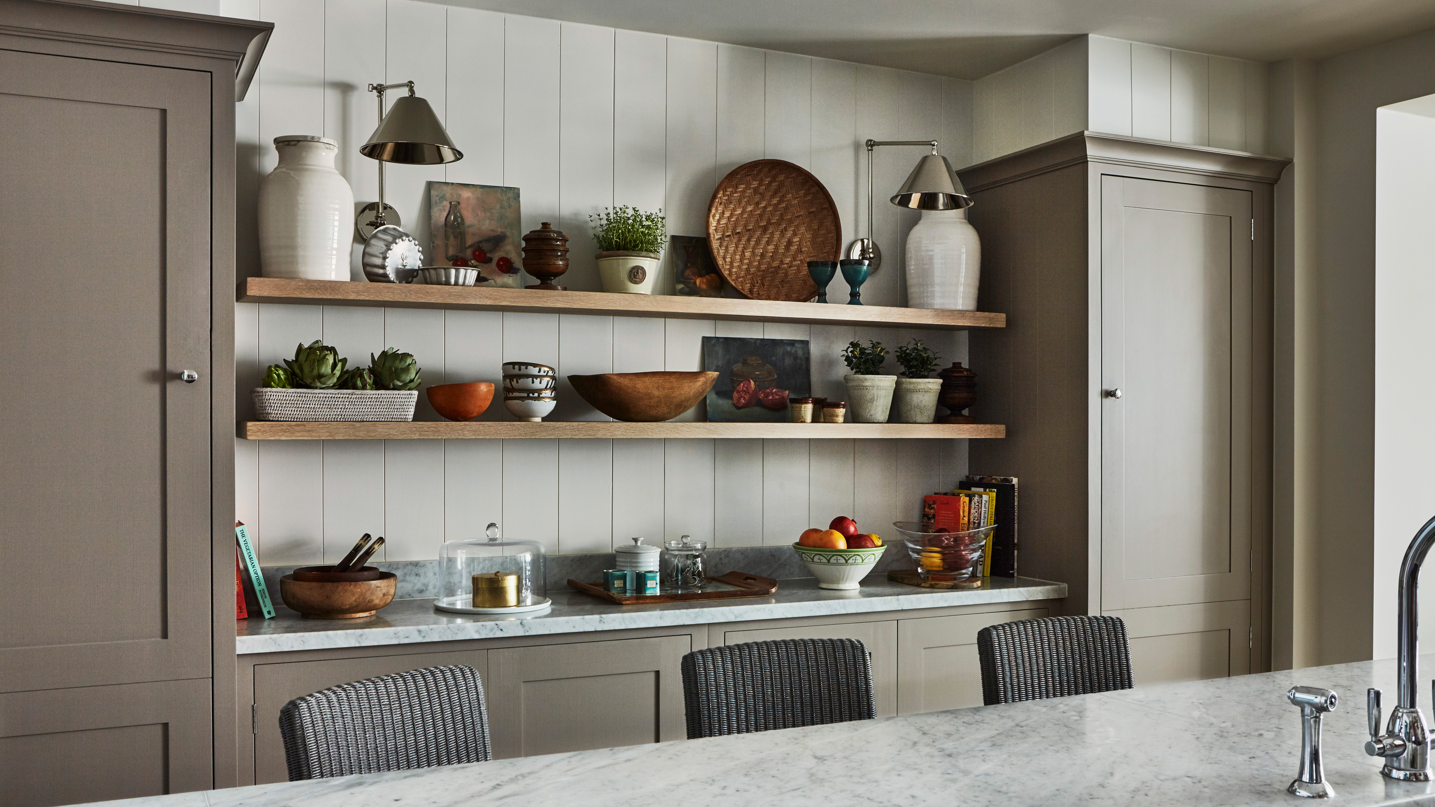 Kitchen Shelving Ideas 12 Ways To Boost Storage And Display Space Homes Gardens