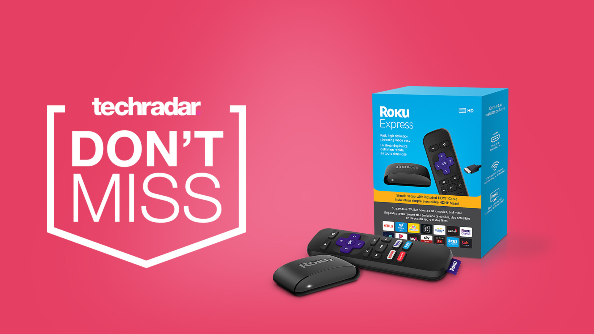 You can get the all-new Roku Express on sale for just $24 at Amazon