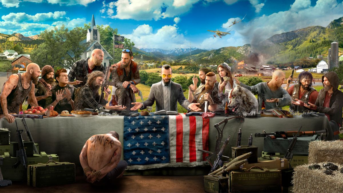 Far Cry 5 Trailer Gameplay Villainous Cult Leaders