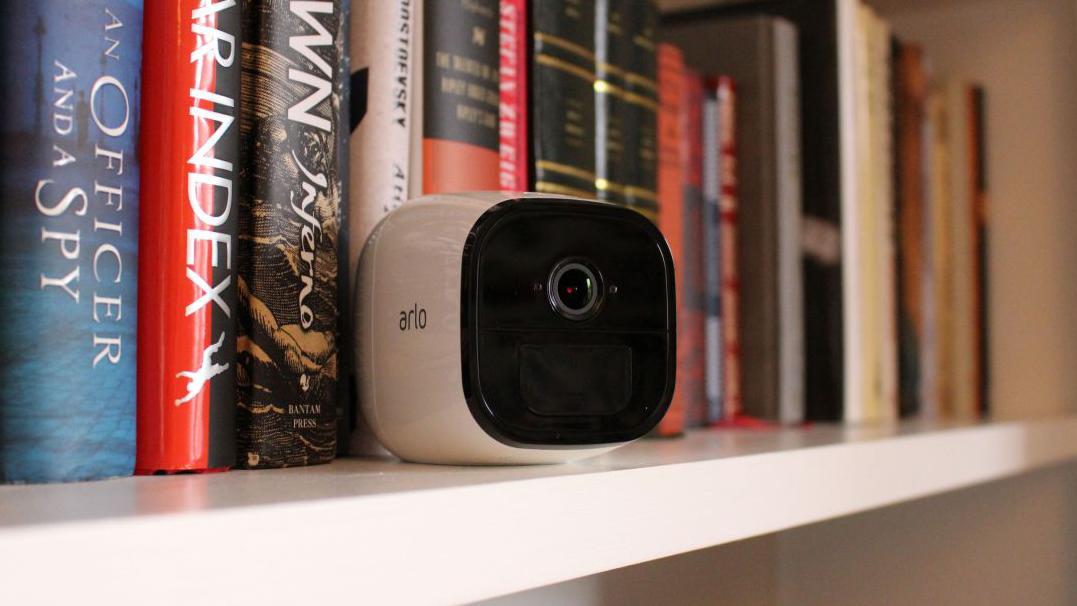 A still of the Netgear Arlo Go security camera