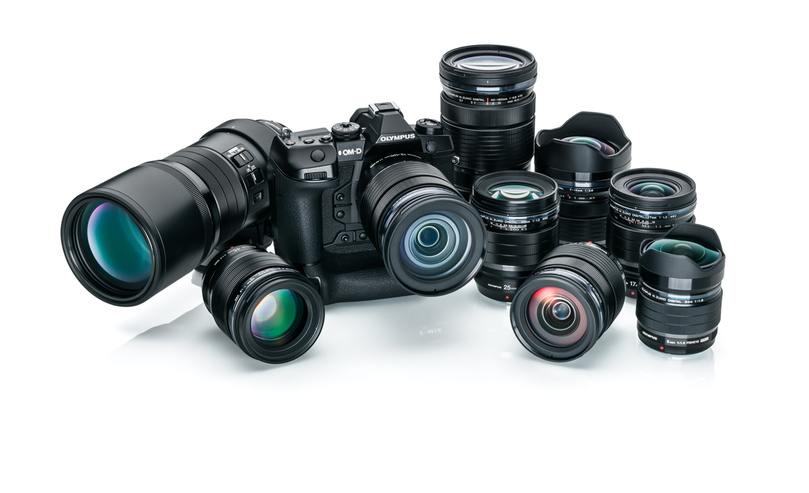 Olympus' new compact pro system brings photographers closer to the action