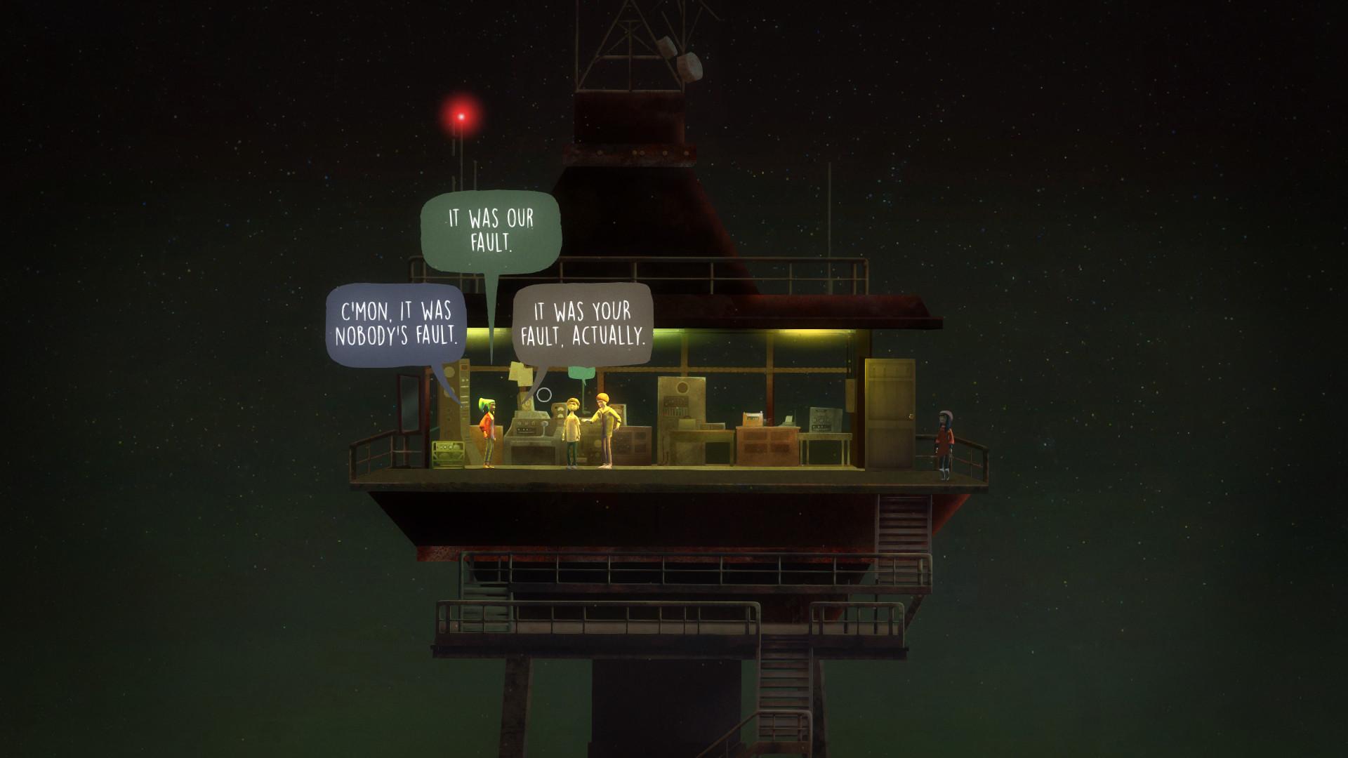 Oxenfree game - best indie games