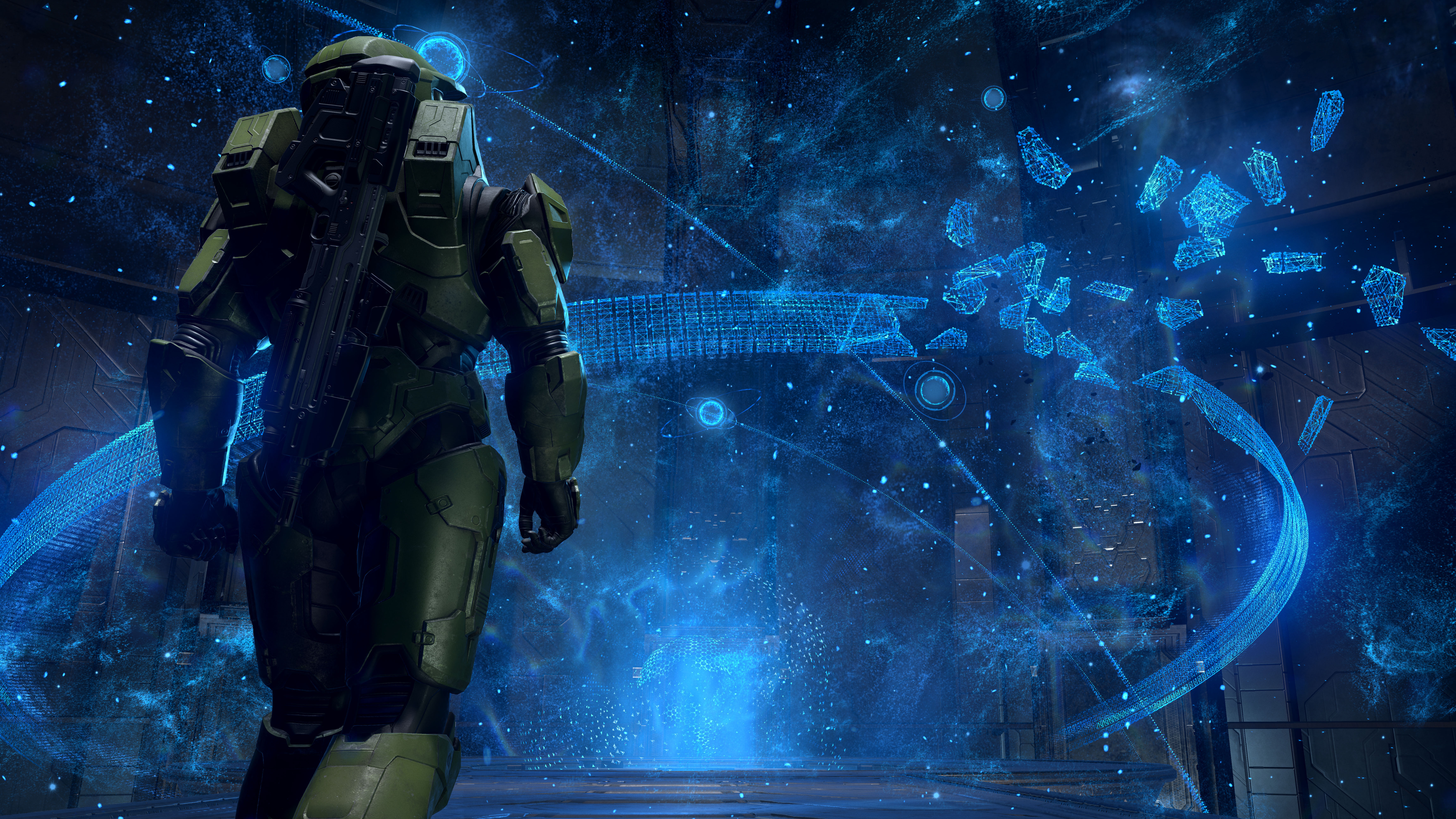 Halo Infinite devs promise hype train 'won't be slowing down' as new artwork is released