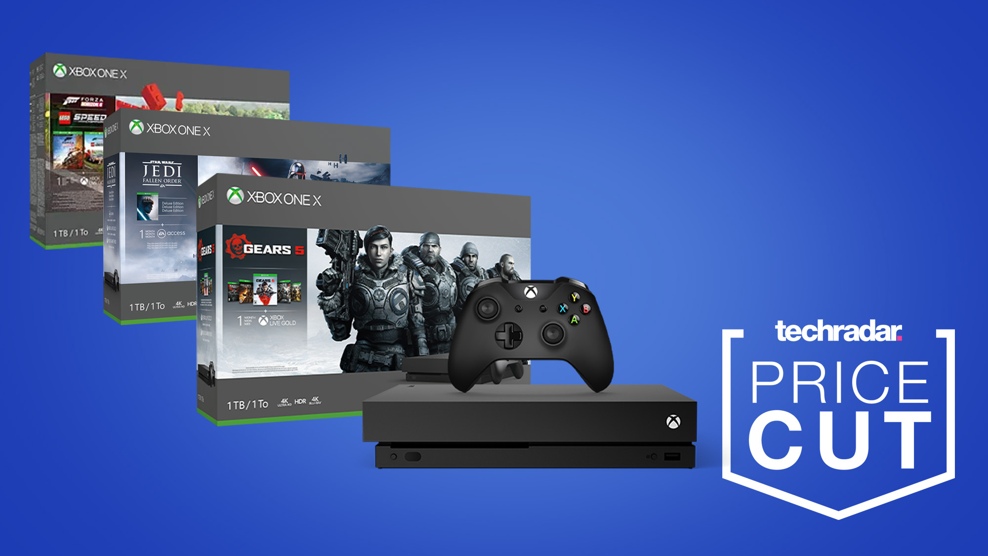 Xbox One X prices take massive cut in latest Microsoft sales