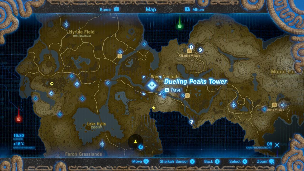 Misko The Great Bandit Zelda >> The Legend of Zelda: Breath of the Wild Shrine locations ...