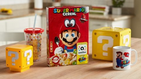 CEREAL KILLER: No Mario Breakfast for Brits!