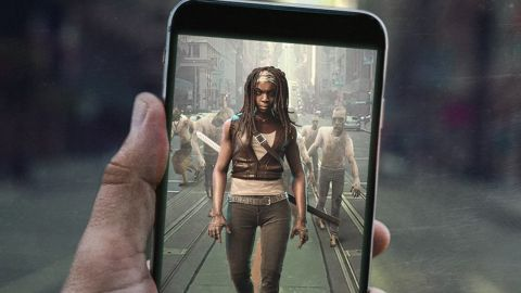 Pokémon Go with zombies