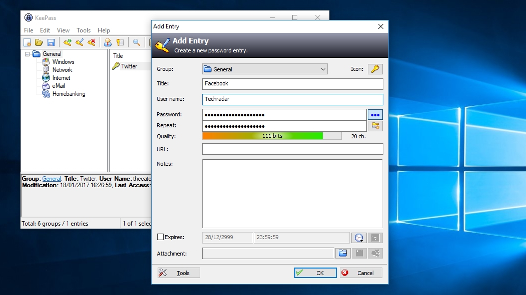 Download Keepass free