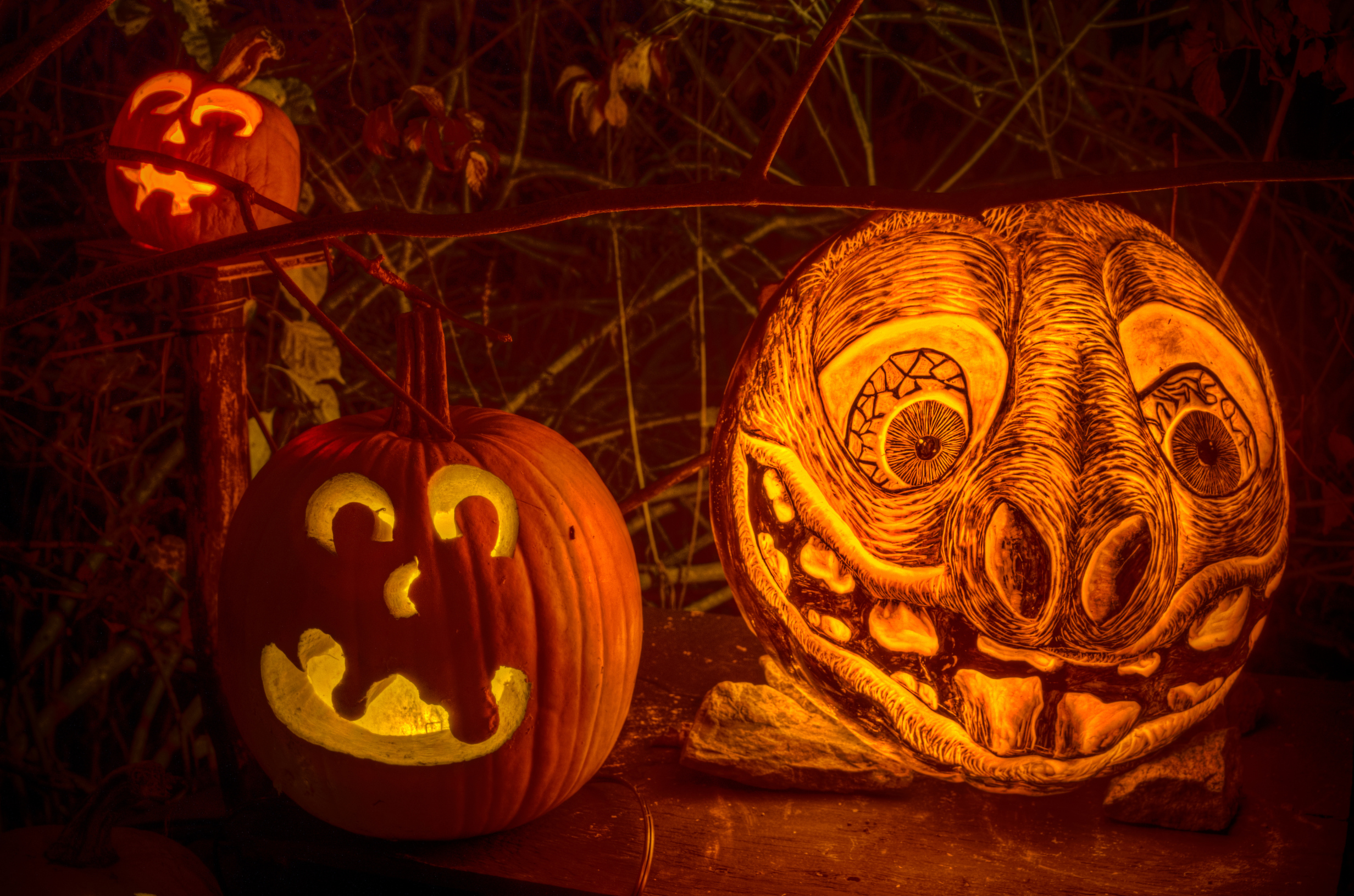 Mindblowing Pumpkin Carvings Creative Bloq - Mind blowing pumpkin carvings by ray villafane 2