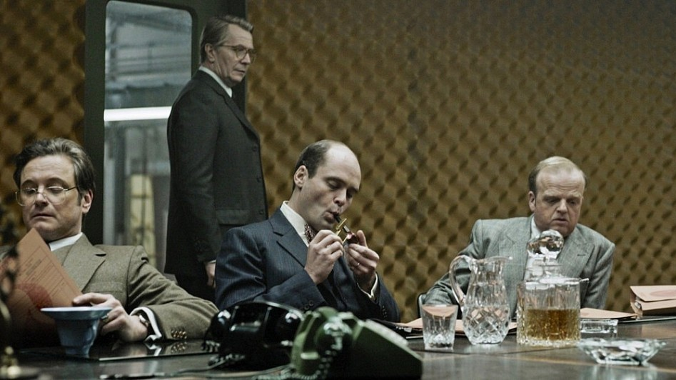 A still from the movie Tinker Tailor Soldier Spy