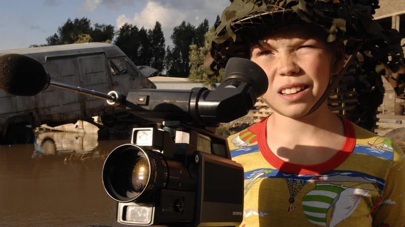 A still from the movie Son of Rambow
