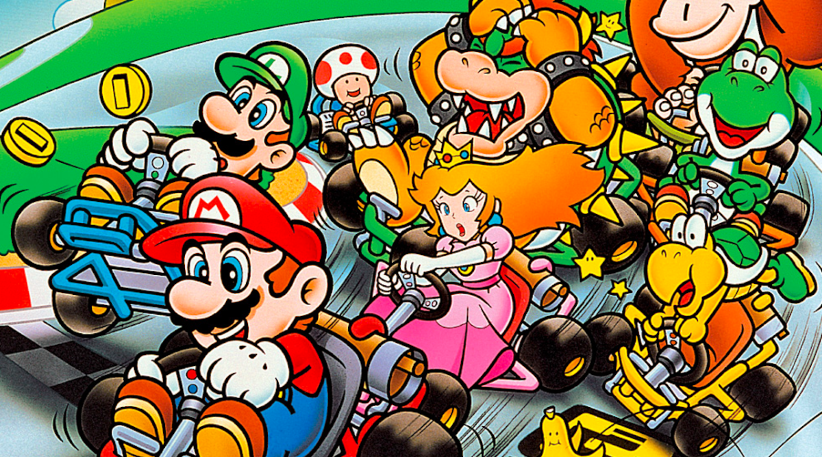 25 years of mario kart 6 ways it changed racing games forever techradar. Black Bedroom Furniture Sets. Home Design Ideas
