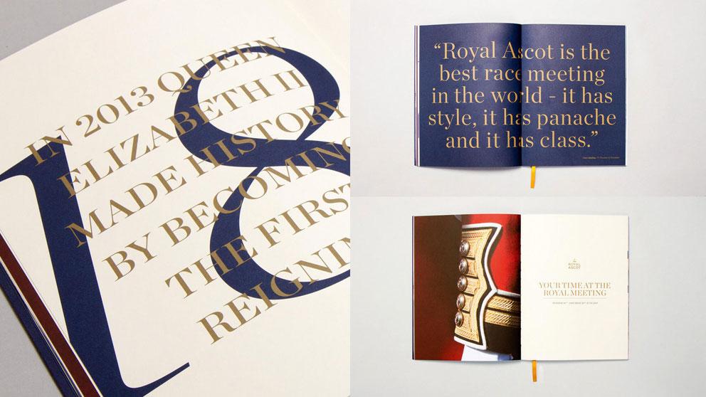 Royal Ascot branding