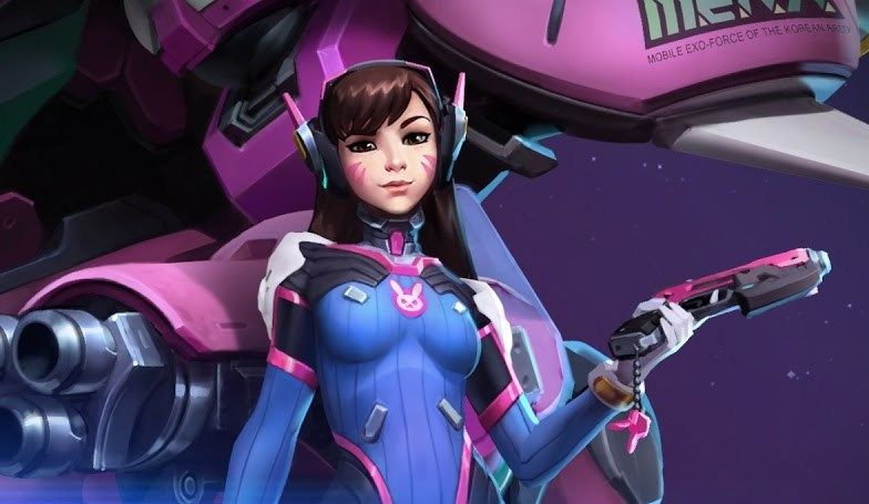 D.Va is now playable on the Heroes of the Storm PTR
