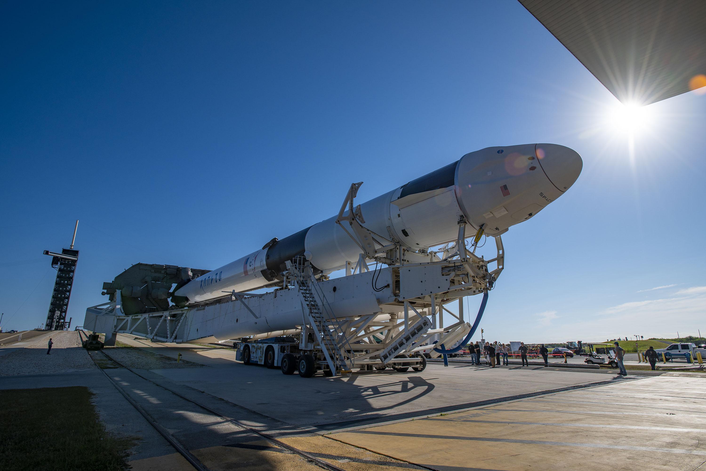 SpaceX Dragon 'go' to launch NASA cargo to space station Thursday thumbnail