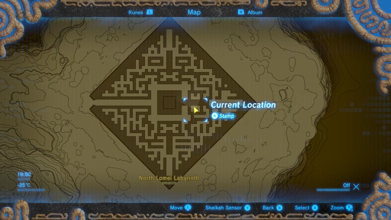 lomei labyrinth island how to get to shrine